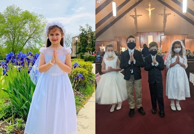 First Holy Communion May 2021