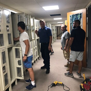 New Student Lockers for the 2021-22 School Year