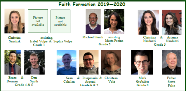 Meet our catechists!