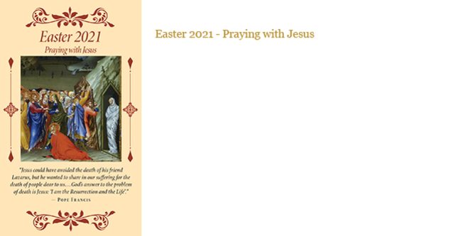 Easter 2021 - Praying with Jesus at Home