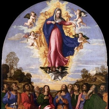The Assumption of the Blessed Virgin Mary Feast Day Mass