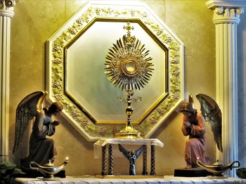 Solemn Eucharistic Devotions (40 Hours) - Day 1