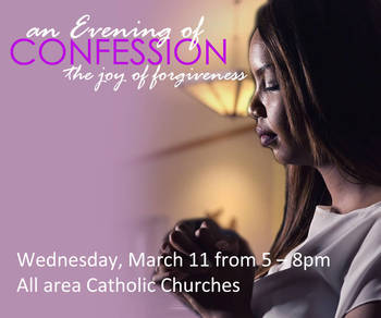 An Evening of Confession - Diocesan-wide Penance Service
