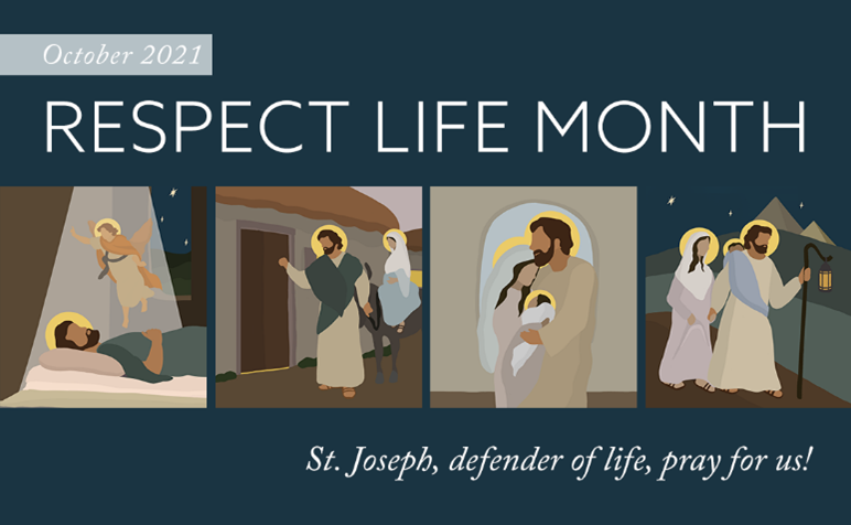 For Reflections and Petitions of all Respect Life Issues, please see our Pro-Life Ministry Page