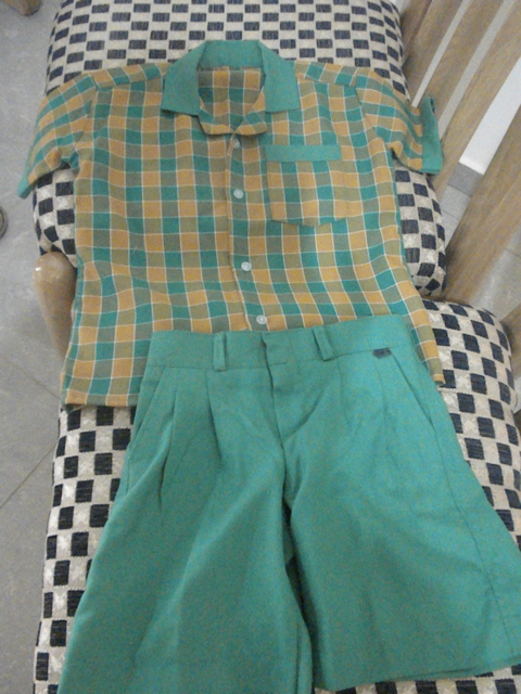 Awaso Academy school uniform for boy.