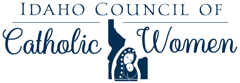 Idaho Council of Catholic Women Logo