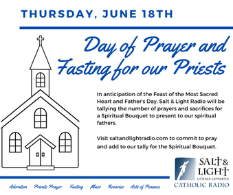 Day of Prayer & Fasting for Our Priests
