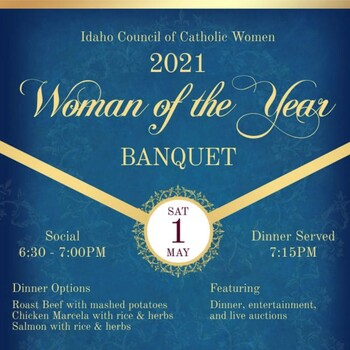 2021 Woman of the Year Banquet