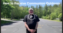 Parking Lot Mass: How to Receive Communion