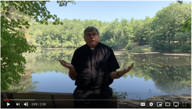 Video Message from Father Steve about our format for Fall Classes