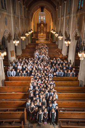 Teaching students in the Jesuit traditions in a welcoming Catholic community that provides a foundation for life