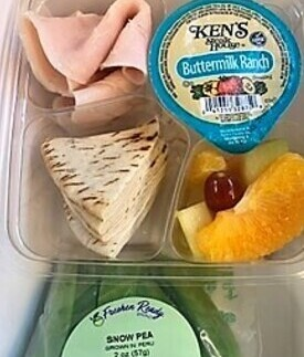 Turkey pita box lunch