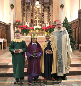 Celebration of Catholic and other holidays is a special part of our school community.