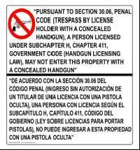 Concealed Handgun Eng and Span
