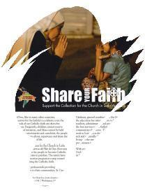 Share Your Faith - Collection for Church in Latin America
