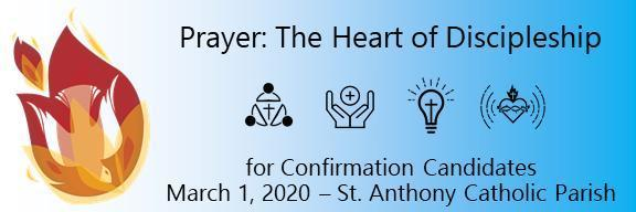 Confirmation Retreat Banner