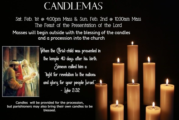 The Feast of the Presentation of the Lord - Candlesmas