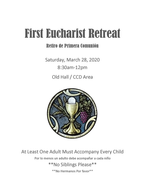 First Eucharistic Retreat 2020