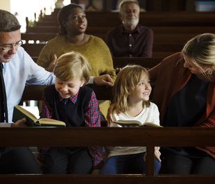 Going to Mass as a Family