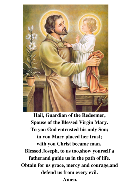 A Year for St. Joseph