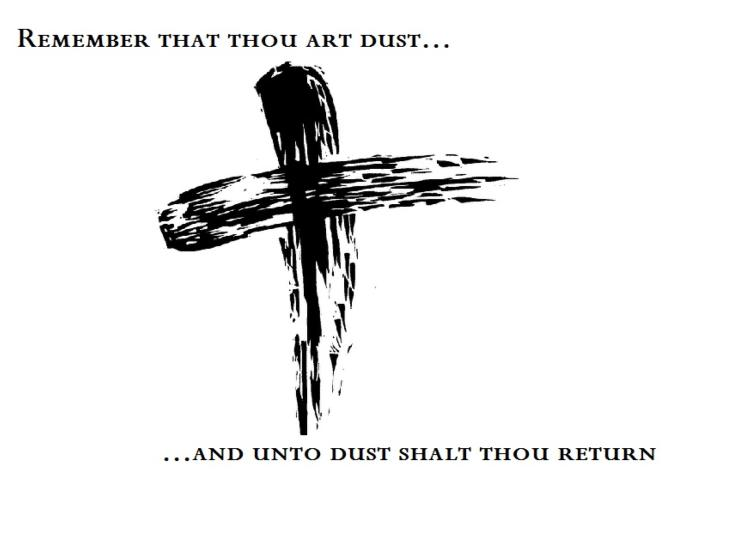 Lent Begins Ash Wednesday.  February 13, 2013