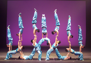 Chinese Acrobat Assembly