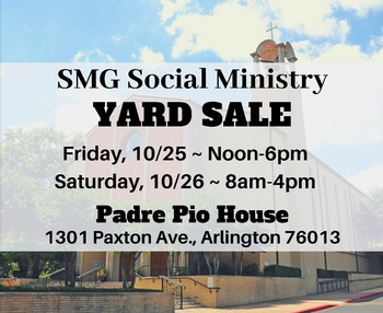 Social Ministry Yard Sale