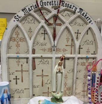 Rosary Makers will not be meeting today