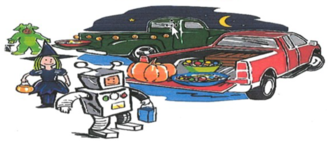 Trunk or Treat hosted by the Knights of Columbus