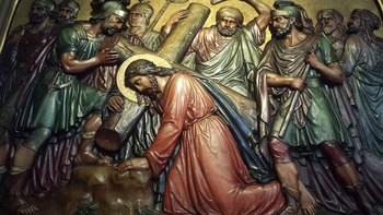 No Stations of the Cross today due to a prior engagement
