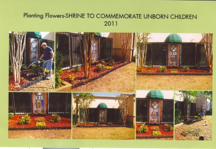 The Unborn Children's Shrine gets a facelift!