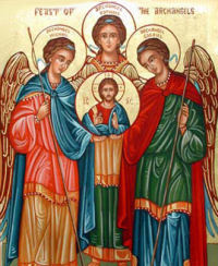 Daily Mass ~ Feast of Sts. Michael, Gabriel and Raphael, Archangels.
