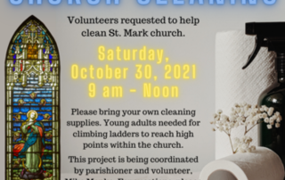 St. Mark Church Cleaning
