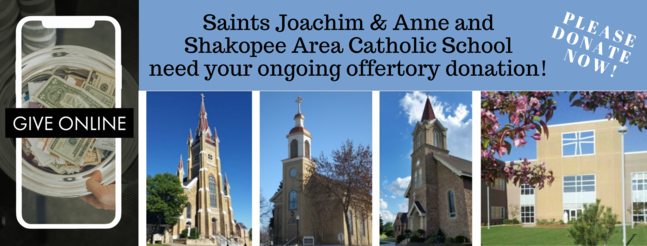SJA & SACS need your ongoing offertory donation. Please donate now!