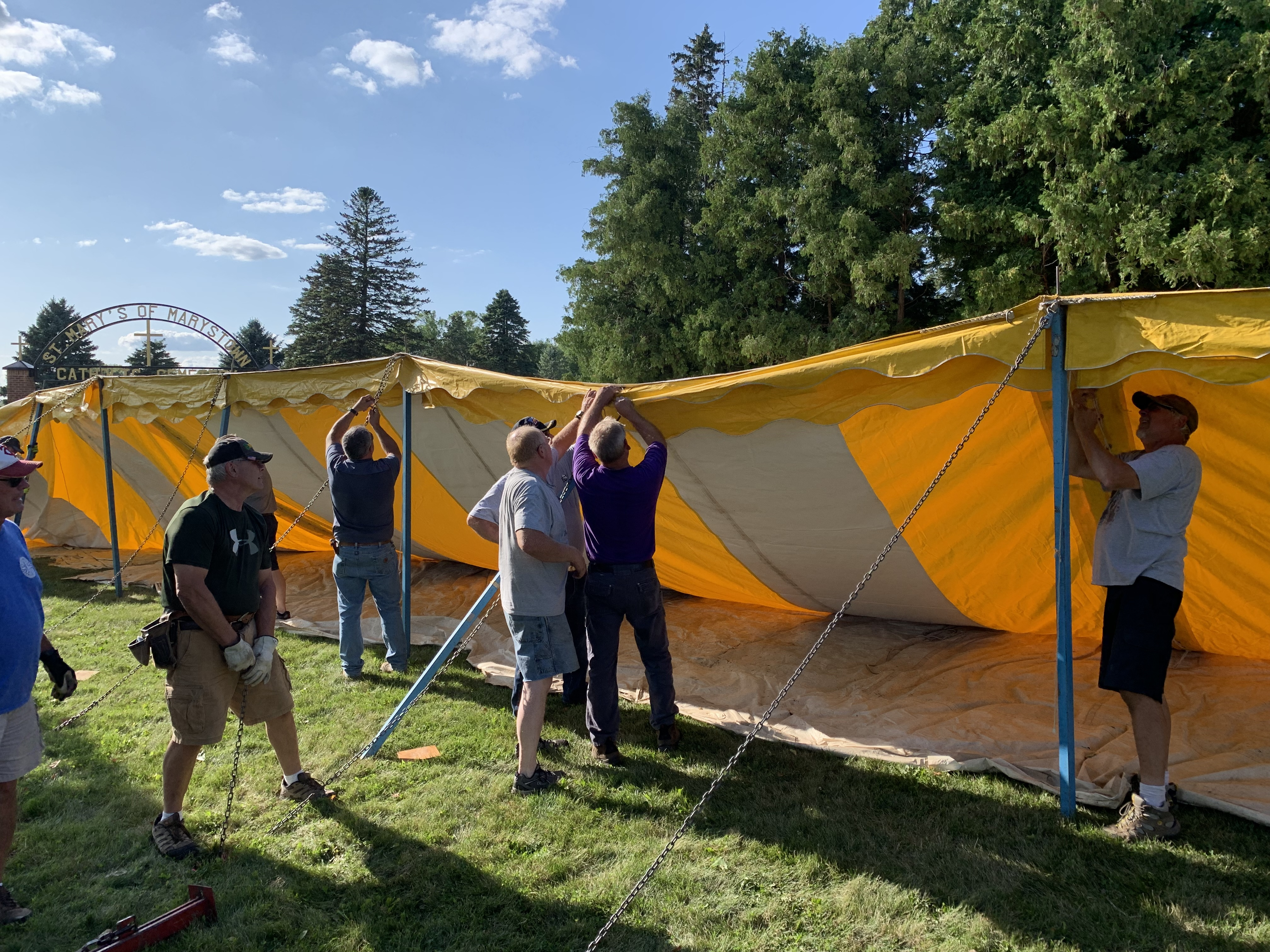 Tent & Booth Set-Up, Food Prep, and Tent Take Down