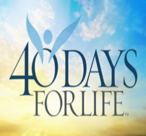 40 Days for Life Peaceful Prayer Walk