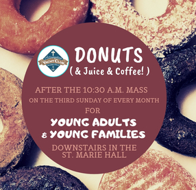 Donuts Downstairs - Young Family Fellowship
