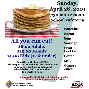 Pancake Breakfast for StL HELP