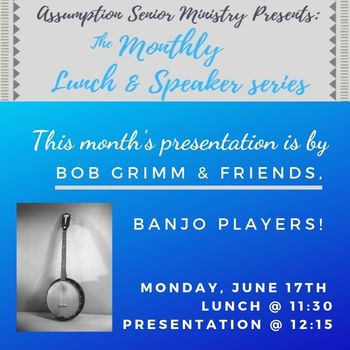 Senior Ministry Lunch & Speaker Series