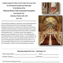 Pilgrimage to the National Shrine of the Immaculate Conception - Washington, DC