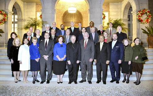 2018 Catholic Foundation Annual Board Meeting and Dinner
