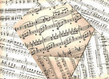 Assorted sheet music