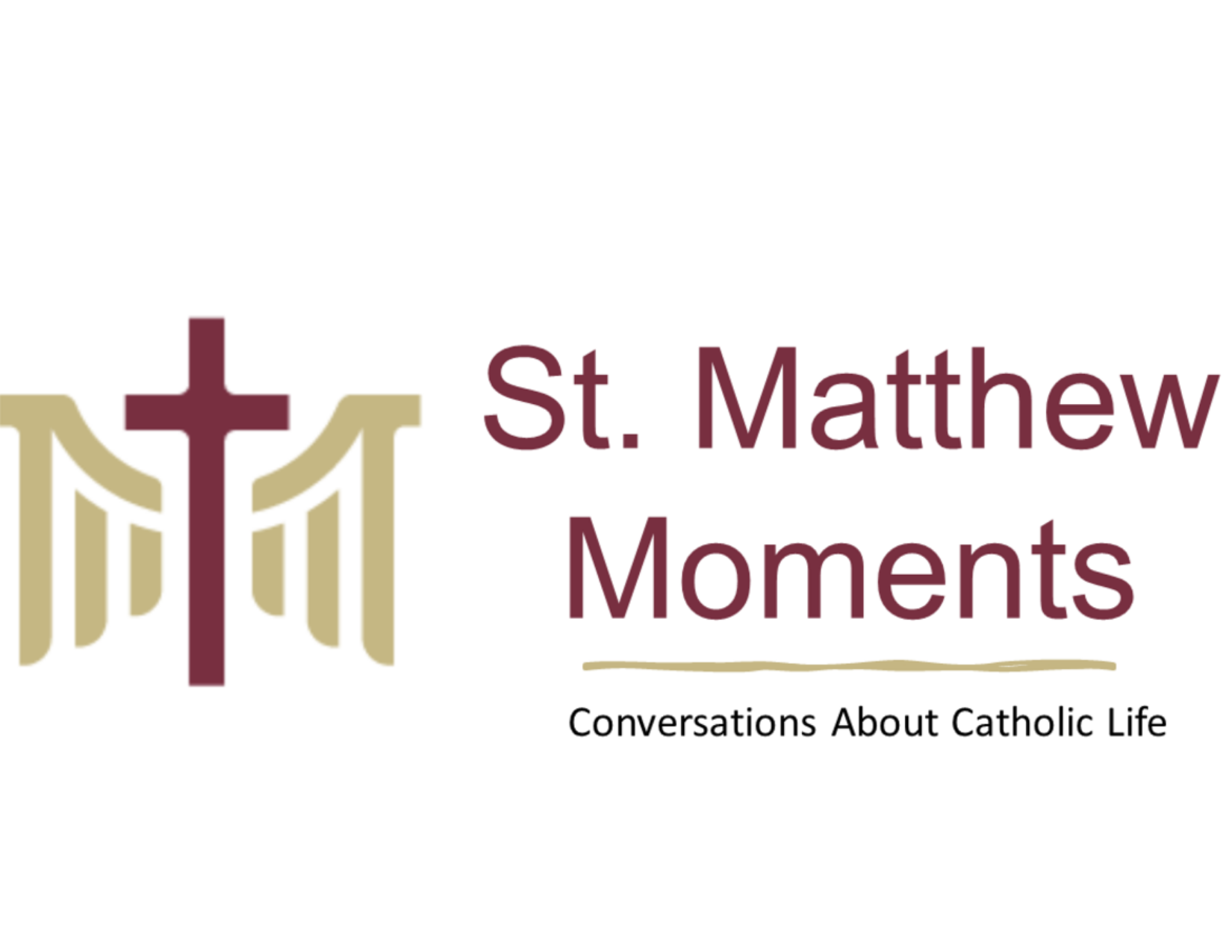 St. Matthew Moments is a podcast where the St. Matthew community comes together to discuss our faith, our families, and our lives. We hope you'll listen along on this journey to grow in faith, grow closer to Christ and your St. Matthew community.