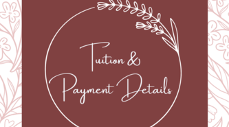 Family of Faith Tuition and Payment Details
