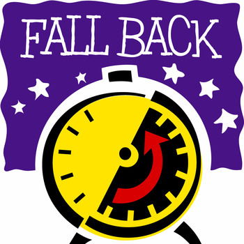 """Fall Back"" on Saturday"