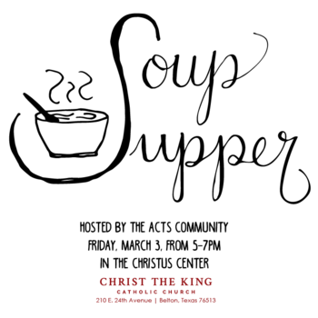 Soup Supper