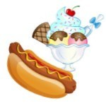 Hot Dog & Ice Cream Sundae Fundraiser