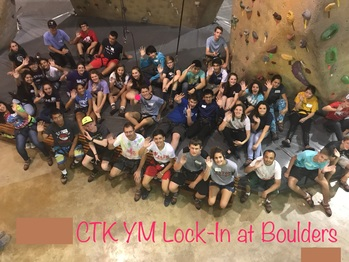 End of the Summer Lock In - at Boulders Sports Climbing Ctr