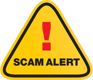 Email and Text Scam Alert
