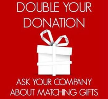 Matching Gifts: Does your employer have a matching gift program?